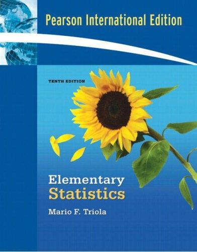 Download Elementary Statistics (International Edition)