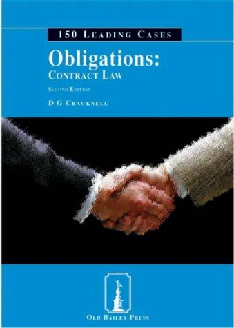 Obligations (150 Leading Cases)