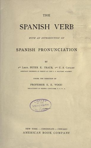 The Spanish verb