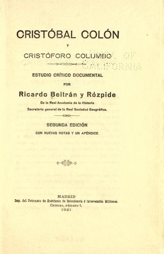 Download Cristóbal Colón y Cristóforo Columbo
