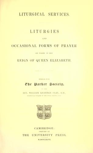 Download Liturgical services