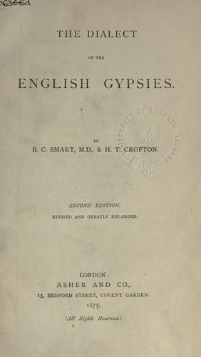 The dialect of the English gypsies.