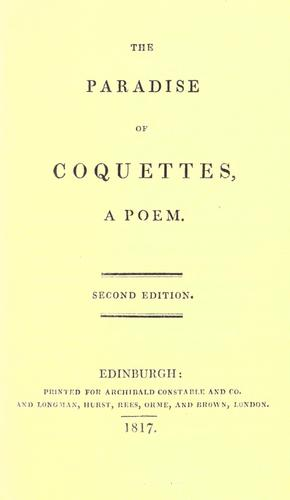 The paradise of coquettes