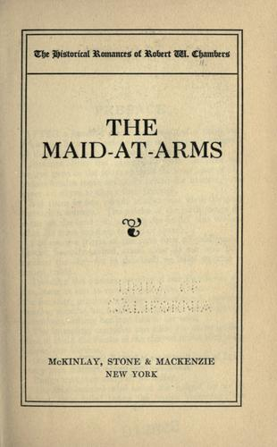 Download The maid-at-arms.
