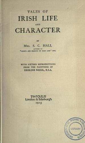 Download Tales of Irish life and character