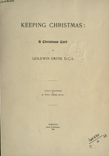 Download Keeping Christmas