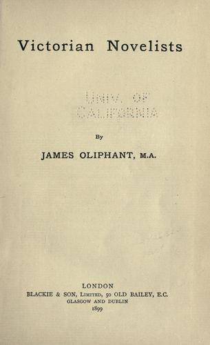 Victorian novelists.