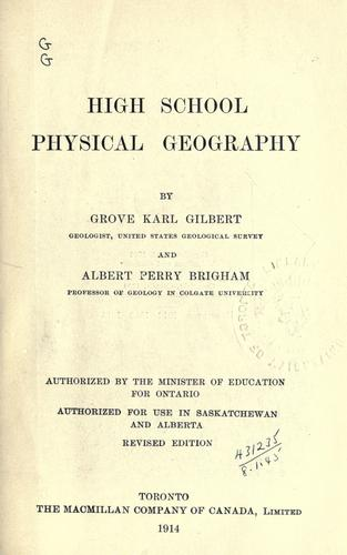 Download High school physical geography.