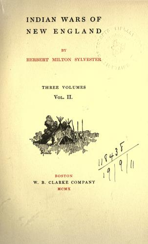 Download Indian wars of New England.
