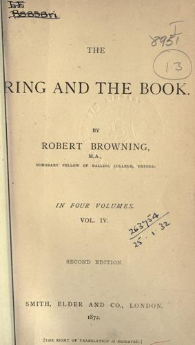 The ring and the book.