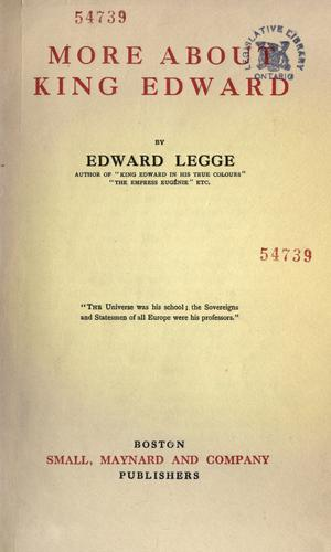 Download More about King Edward.
