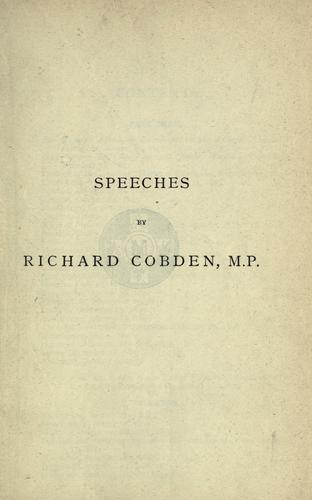 Download Speeches on questions of public policy