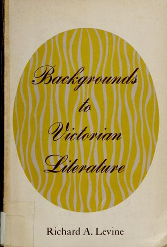 Backgrounds to Victorian literature