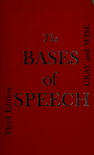 Download The bases of speech