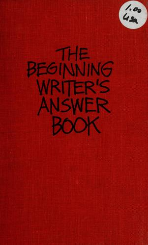 Download The beginning writer's answer book