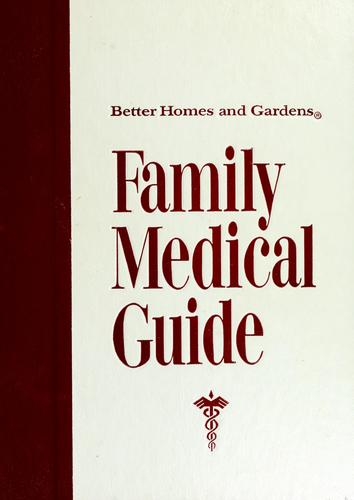 Download Better homes and gardens family medical guide