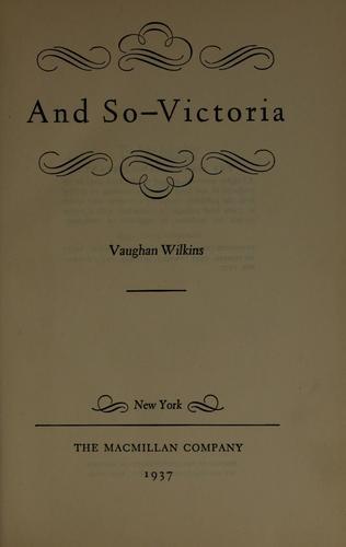 And so – Victoria