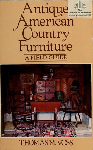 Antique American country furniture