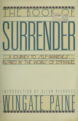 The book of surrender