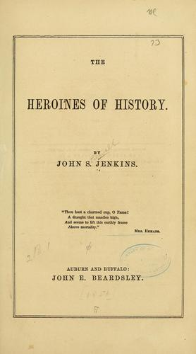 Download The Heroines of history
