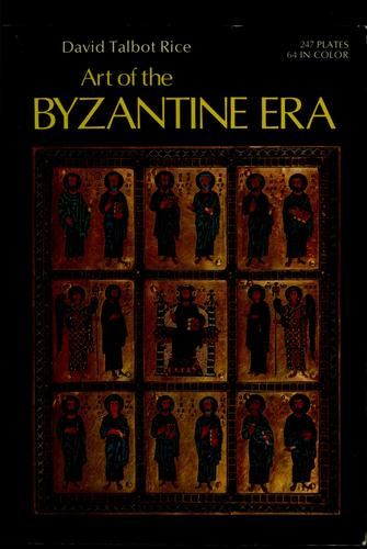 Art of the Byzantine era.