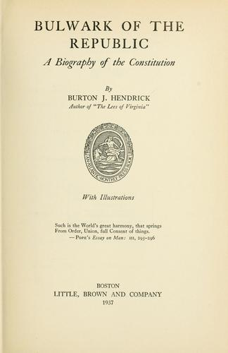 Bulwark of the republic