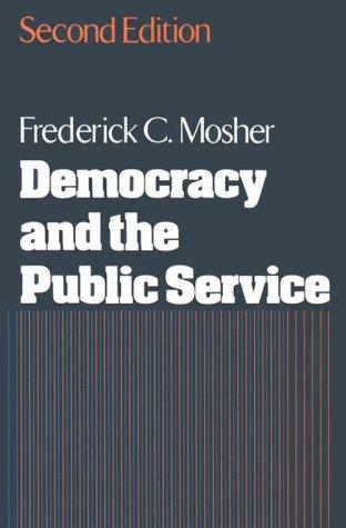 Download Democracy and the public service