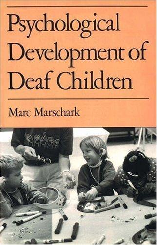 Psychological development of deaf children