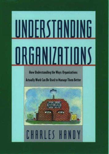 Download Understanding organizations