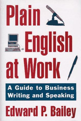 Download Plain English at work