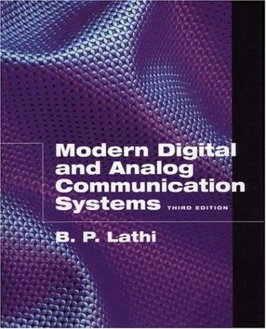 Download Modern digital and analog communication systems