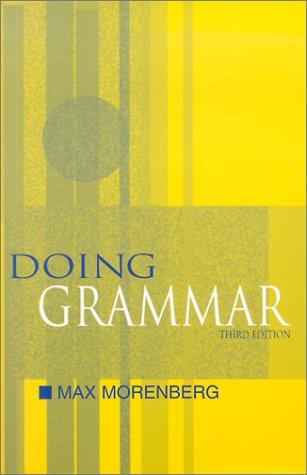 Download Doing grammar