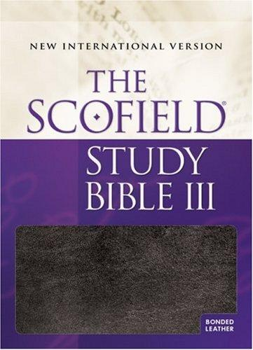 The ScofieldRG Study Bible III, NIV