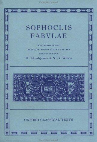 Sophoclis fabulae