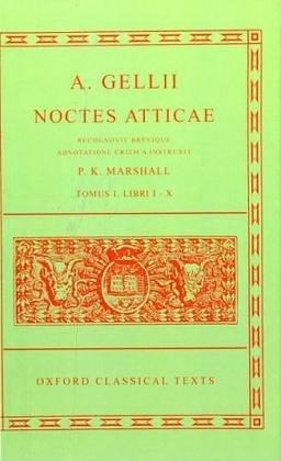 A. Gellii Noctes Atticae