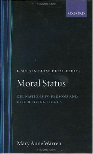Download Moral status