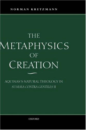 Download The metaphysics of creation