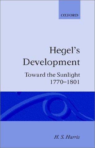 Hegel's Development