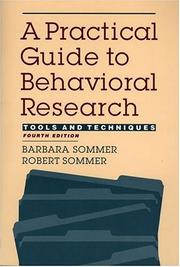 A Practical Guide To Behavioral Research: Tools And Techniques PDF Download