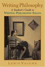 Writing Philosophy: A Student's Guide To Writing Philosophy Essays PDF Download