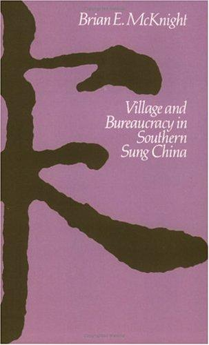 Download Village and Bureaucracy in Southern Sung China