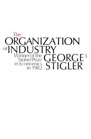 Download The organization of industry