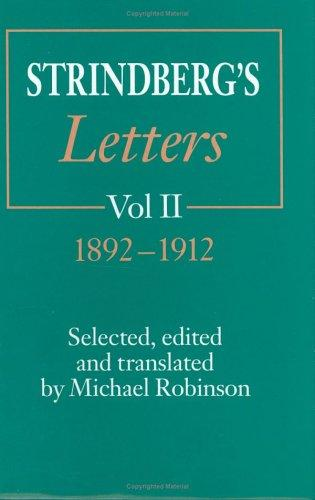 Strindberg's letters
