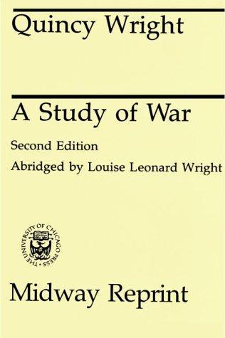 Download A study of war