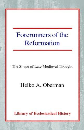 Download Forerunners of the Reformation