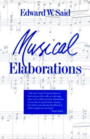 Download Musical elaborations
