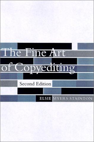 Download The Fine Art of Copyediting