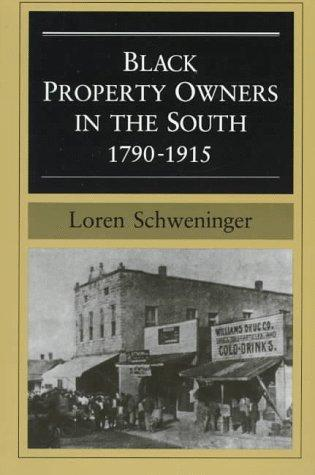 Black property owners in the South, 1790-1915