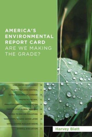Download America's Environmental Report Card