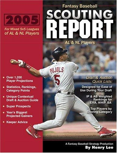 Download Fantasy Baseball Scouting Report